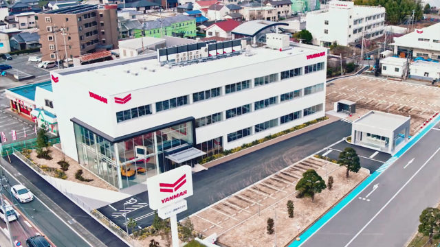 Yanmar's Construction Equipment Showroom Where the Past and Future Coexist