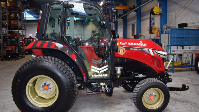 Manchester United gets Better with Yanmar