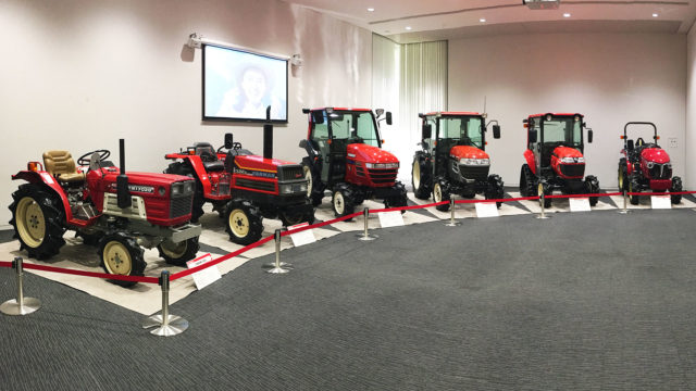 Half a Century of Yanmar's Iconic Red Tractor A Photographic Journey Back Through Time