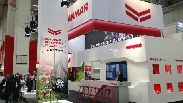 Towards a Sustainable Future: Yanmar Launches Stage V Novelties at Agritechnica