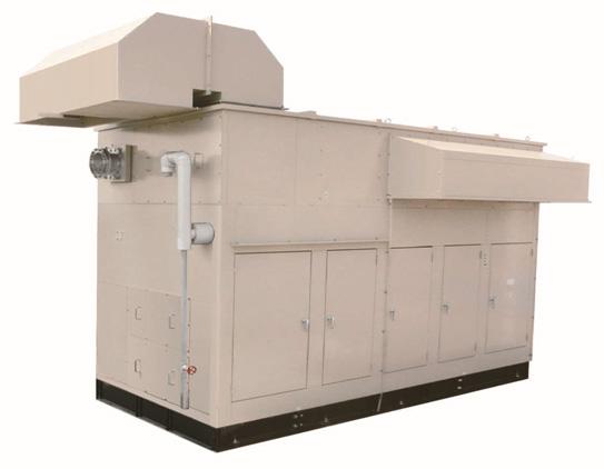 A BP-G biogas generator set model