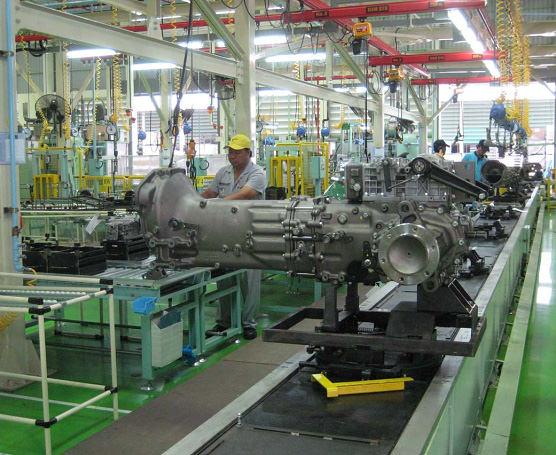 工場内生産設備(変速機生産ライン)