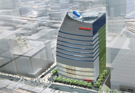建物完成イメージ図