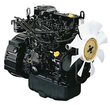 洋馬発動機(山東)有限公司で現地生産するディーゼルエンジン(出力:70馬力)