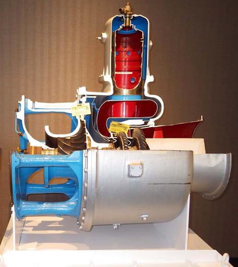 ヤンマー1軸式ガスタービン「AT900形」