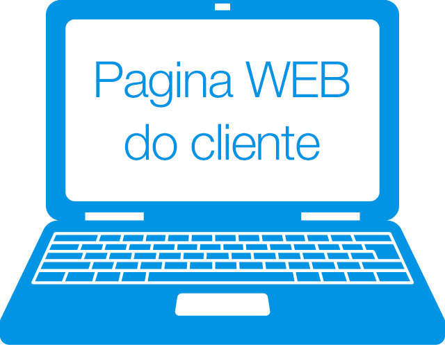 Pagina WEB do cliente