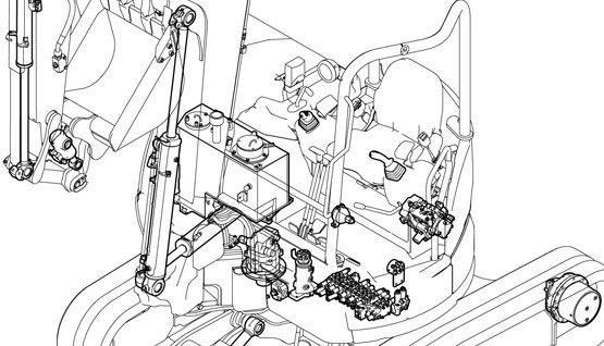 Technical Features - High-quality hydraulic system