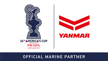 36TH AMERICA'S CUP PRESENTED BY PRADA AUCKLAND 2021 YANMAR OFFICIAL MARINE PARTNER