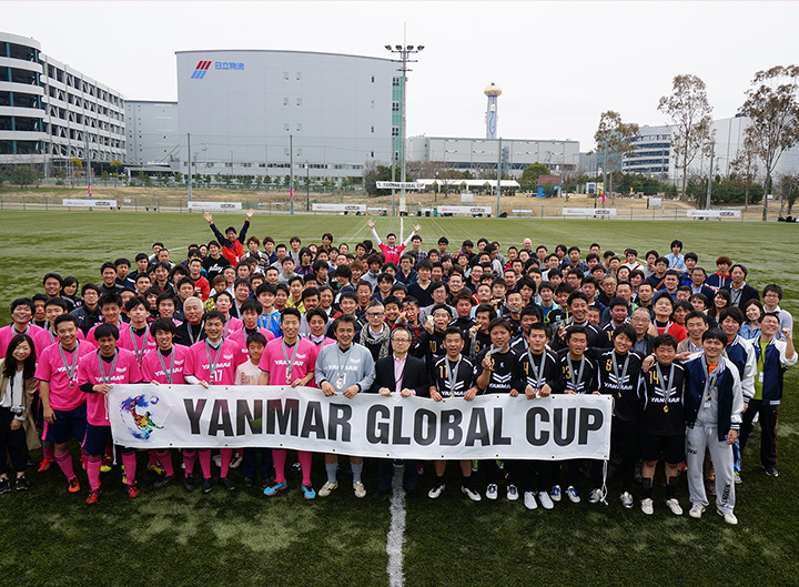 Football and YANMAR's Corporate Culture