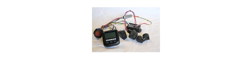 Fig-3. Yanmar America's exclusive engine CAN panel and remote start module