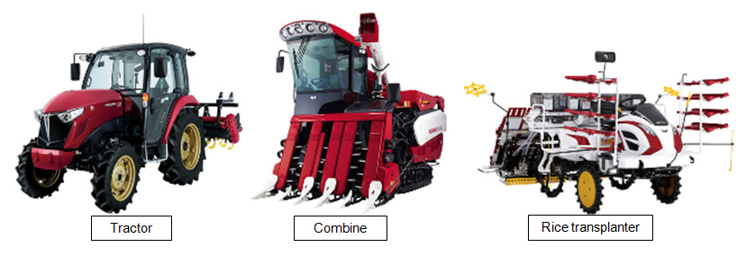 Fig. 1 Examples of Agricultural Machines that Install HSTs
