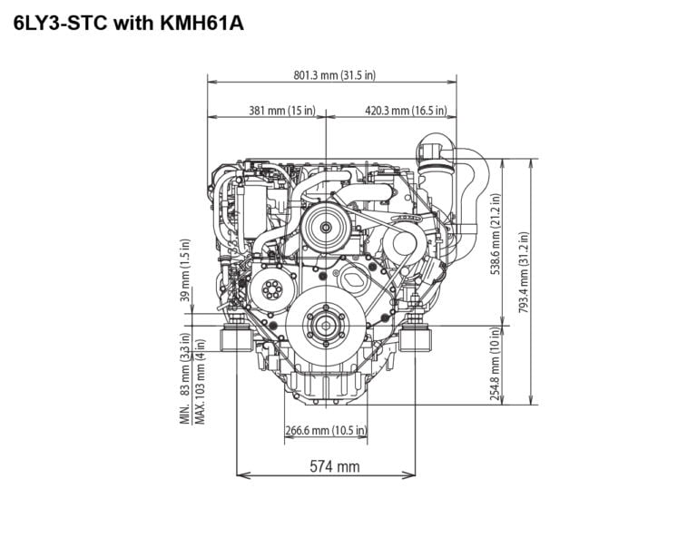 6LY3-STC with KMH61A