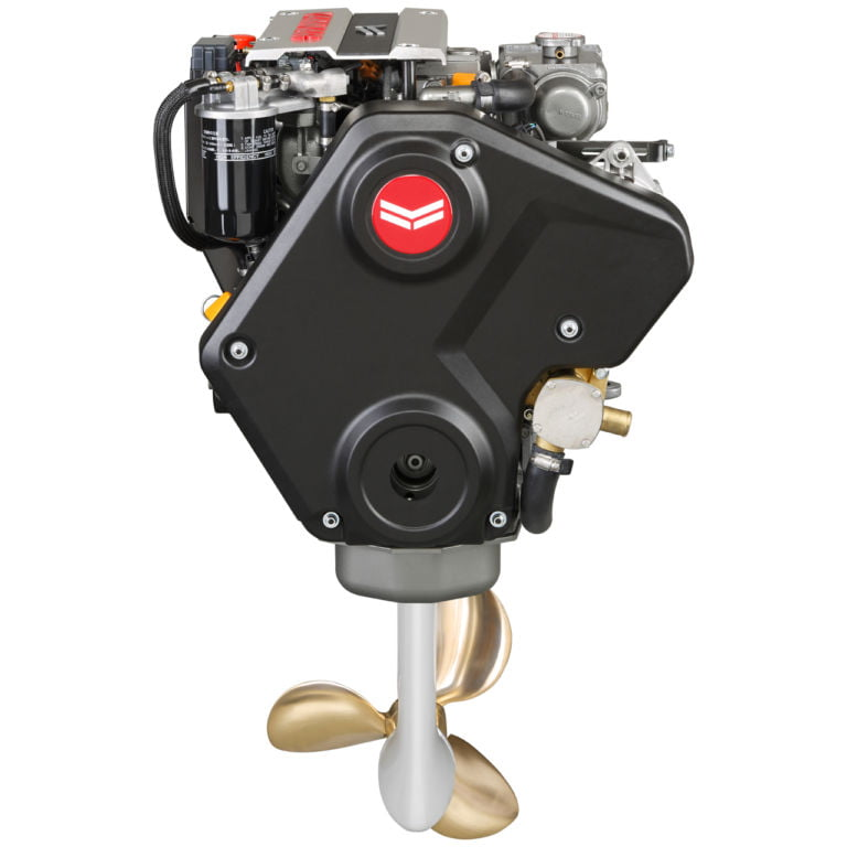 3JH40 SD60 front engine saildrive