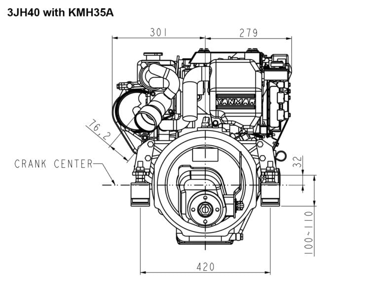 3JH40 with KMH35A