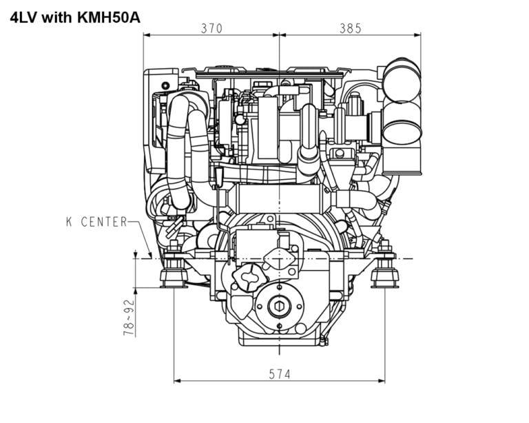 4LV195 with KMH50A