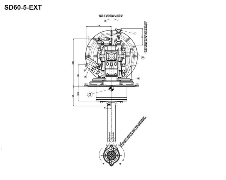 SD60-5 EXT rear