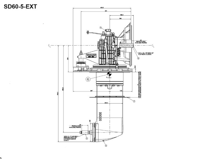 SD60-5 EX side