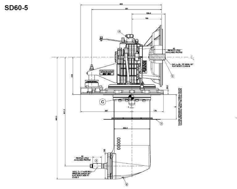 SD60-5 side