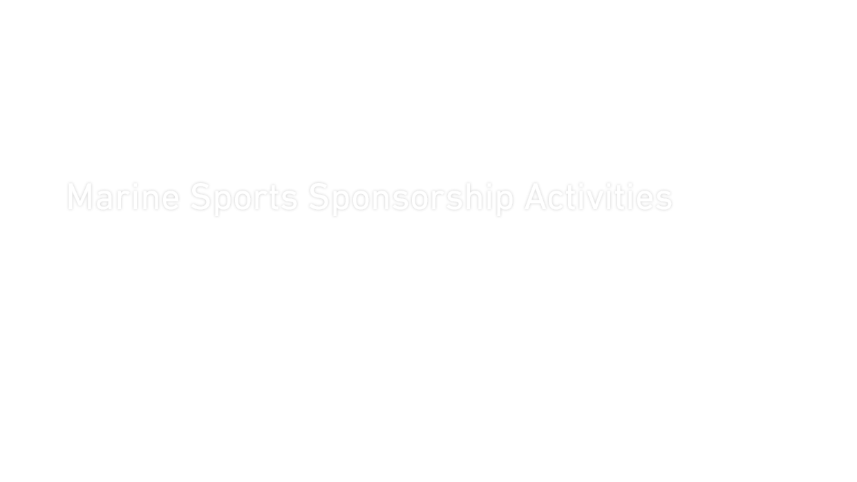 Marine Sports Sponsorship Activities