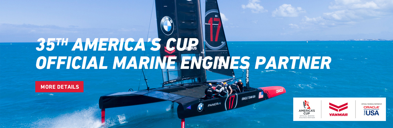 35TH AMERICA'S CUP OFFICIAL MARINE ENGINES PARTNER