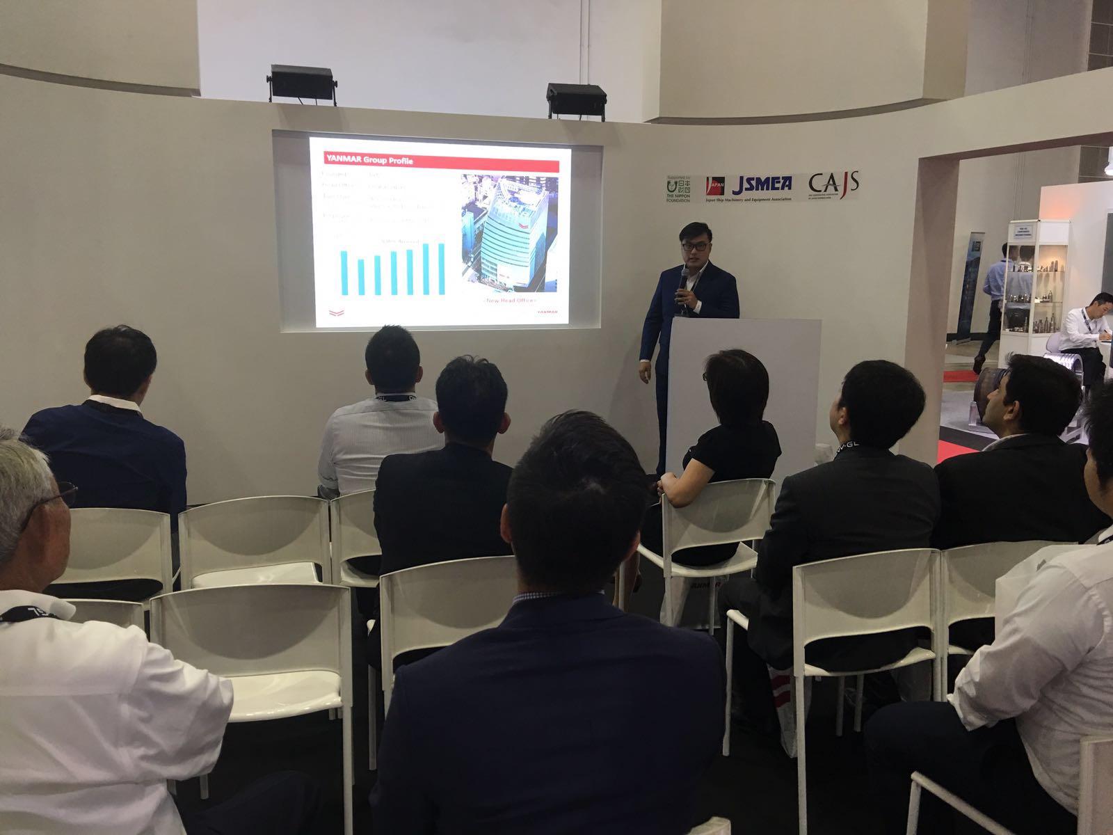 YASC (YANMAR ASIA) AT APM 2016 EVENT 2016 News YANMAR