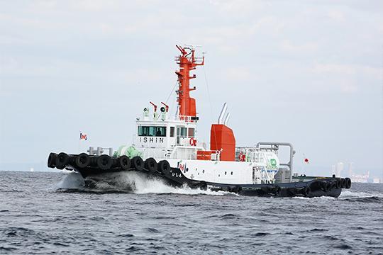LNG燃料タグボート「いしん」