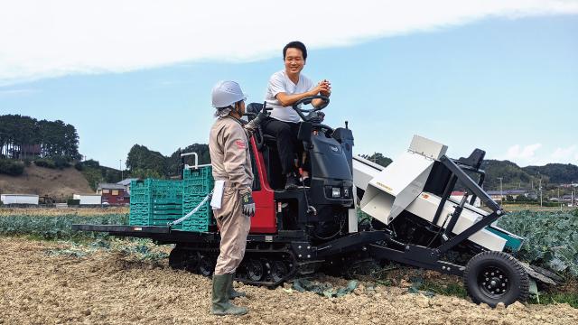 鈴木氏は農場だけでなく、物流、教育、福祉など農業に関わる様々な事業を展開している。