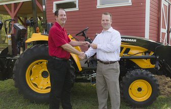 YANMAR America's Agriculture Division Donates Use of Tractor to Season's Harvest at Berry College