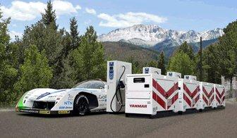 "YANMAR to Sponsor ""Team APEV with Monster Sport"" in Pikes Peak International Hill Climb"